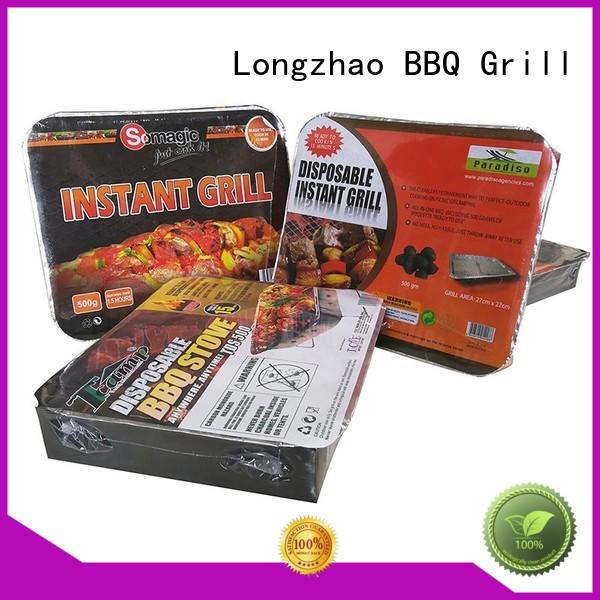 Longzhao BBQ stove small charcoal grill wheels for camping
