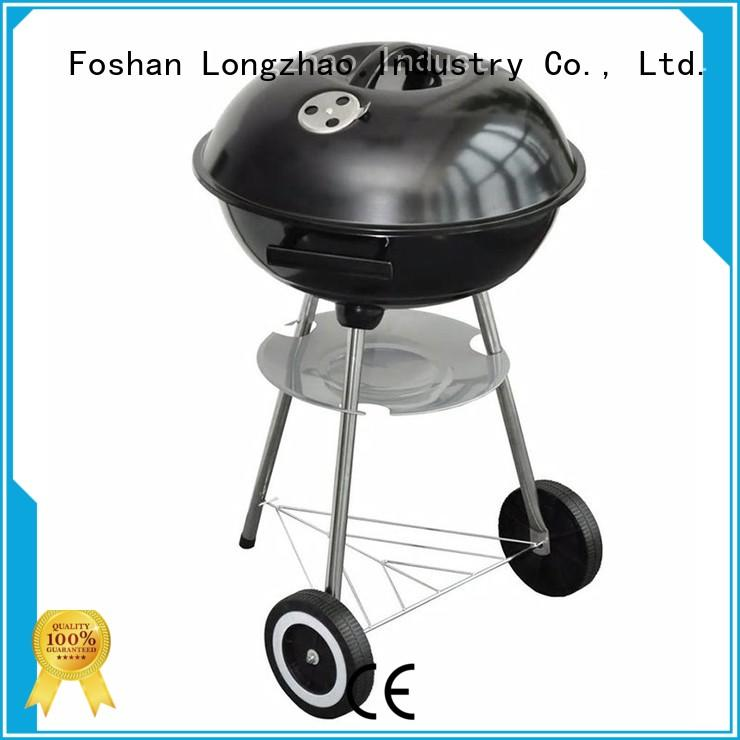 Longzhao BBQ charcoal smoker grills high quality for camping