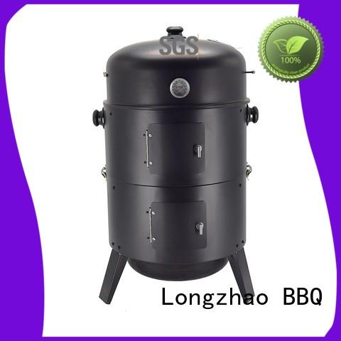 garden round metal fire pits fire for outdoor cooking Longzhao BBQ