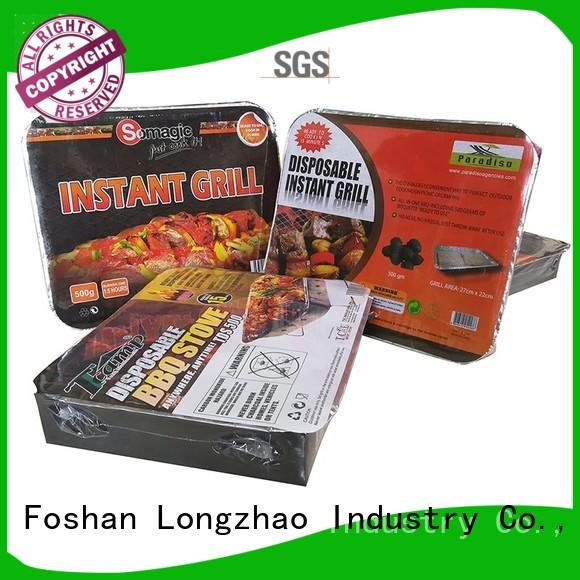 Longzhao BBQ Brand patio eco-friendly large wheels best charcoal grill