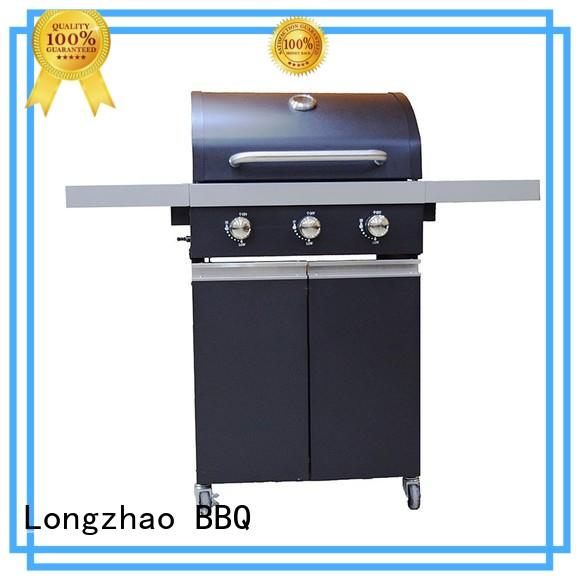 Longzhao BBQ Brand garden black 2 burner gas grill eco-friendly