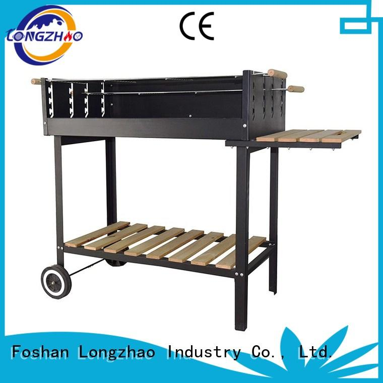 Longzhao BBQ large small charcoal grill at discount for outdoor cooking