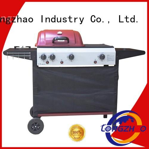 large iron griddle liquid gas grill Longzhao BBQ Brand company