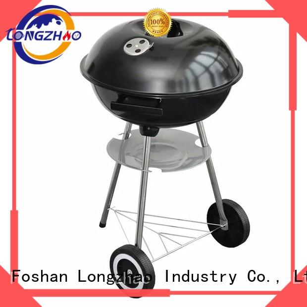 gas barbecue bbq grill 4+1 burner barbecue large pit Warranty Longzhao BBQ