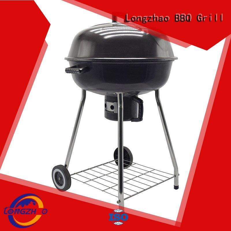 portable barbecue grill burning for outdoor cooking Longzhao BBQ