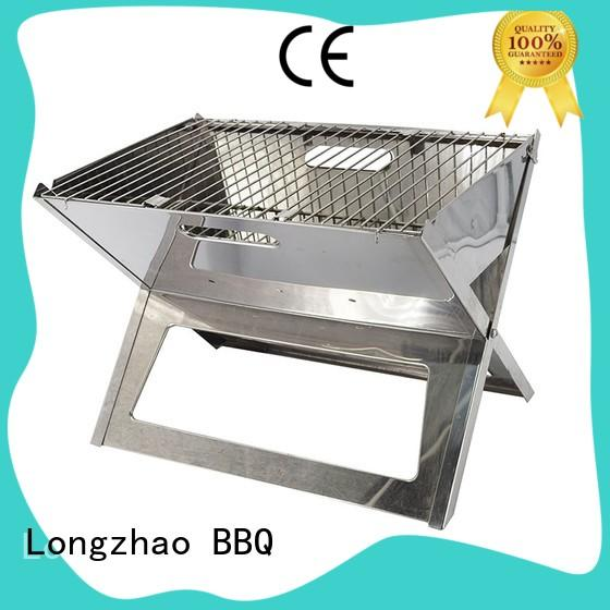 Longzhao BBQ smoker small charcoal grill shape for outdoor cooking