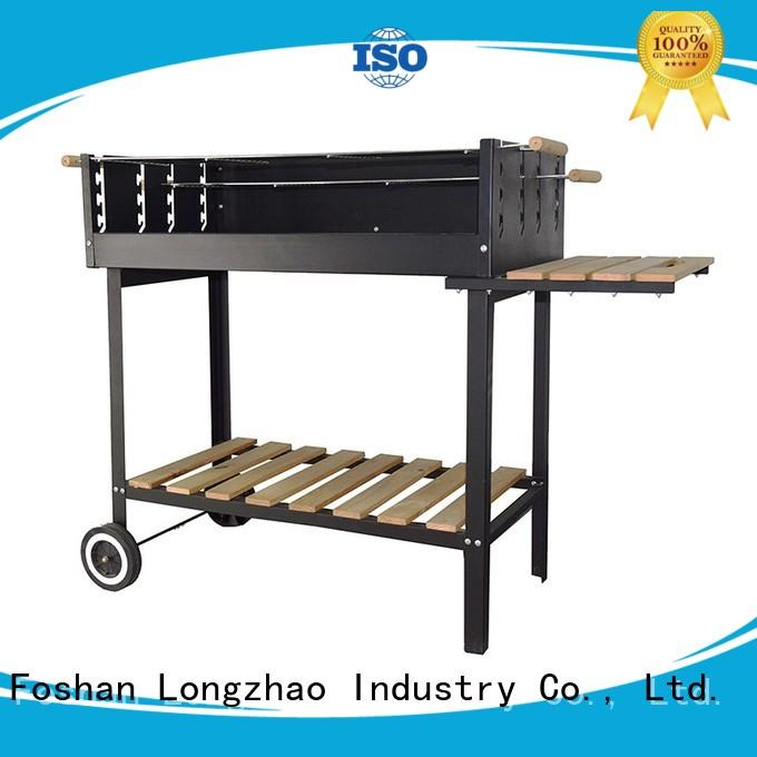 smoker small charcoal grill kettle for barbecue Longzhao BBQ