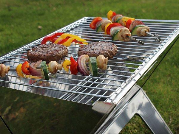 small charcoal grill steel for outdoor bbq Longzhao BBQ-3