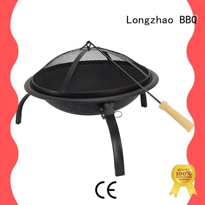 Longzhao BBQ round charcoal grill factory direct supply for barbecue