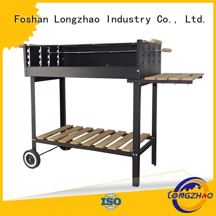 Longzhao BBQ Brand barren camping barrel liquid gas grill manufacture