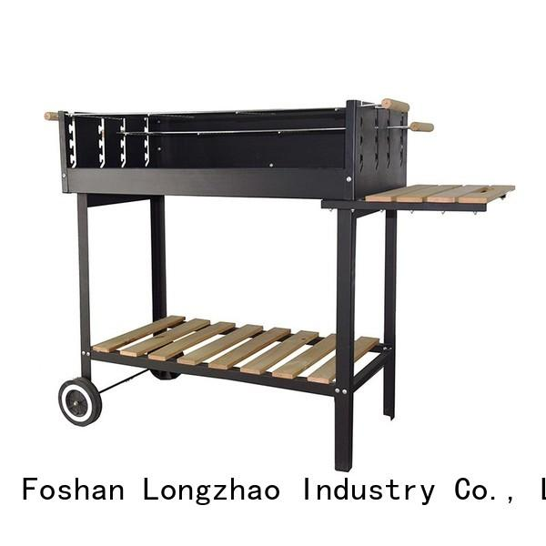 Longzhao BBQ colorful bbq charcoal grills bulk supply for outdoor bbq