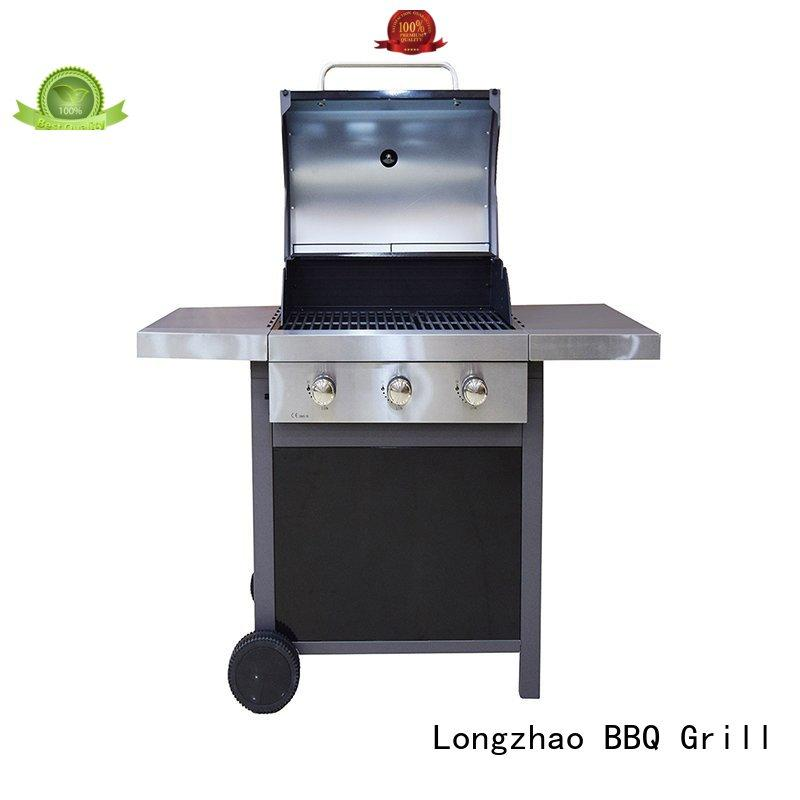 Longzhao BBQ natural gas outdoor grills easy-operation for garden grilling