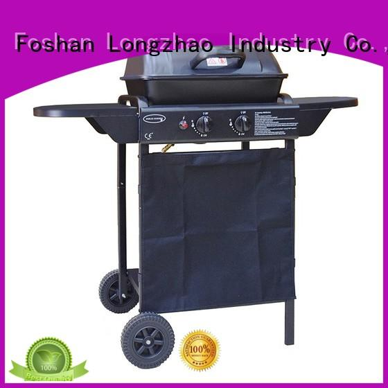 Longzhao BBQ portable folding gas grill black for cooking