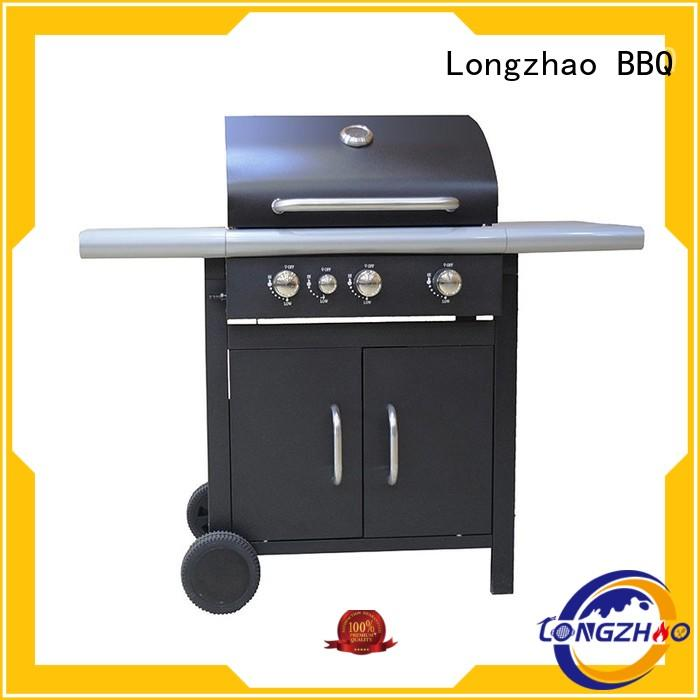 Longzhao BBQ Brand side factory direct low price grills liquid gas grill
