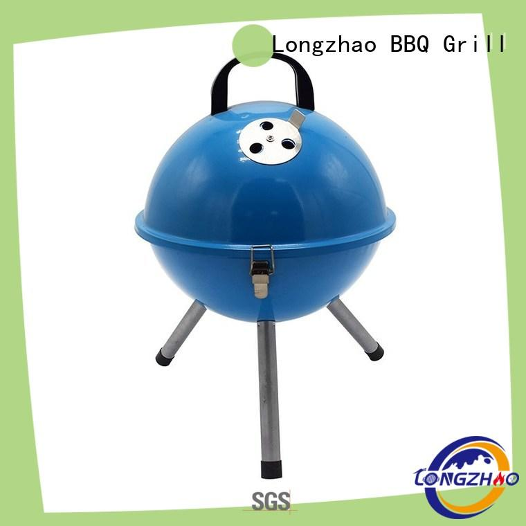 fire best charcoal grill burning for camping Longzhao BBQ