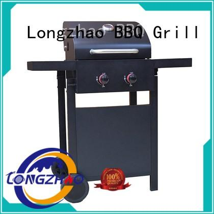 Longzhao BBQ outdoor stainless steel gas grill for garden grilling
