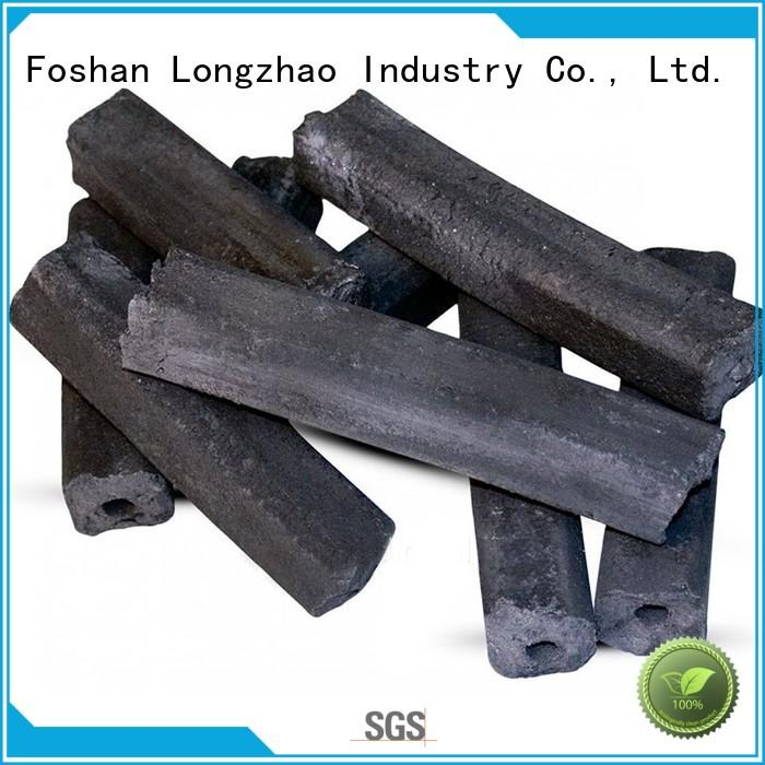 factory rice low ash charcoal manufacturer for meat grilling Longzhao BBQ
