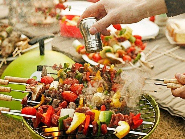Longzhao BBQ round metal charcoal bbq grill sale high quality for outdoor bbq-3