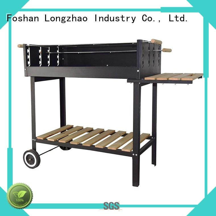 Longzhao BBQ Brand heavy trolley bowl custom disposable bbq grill near me