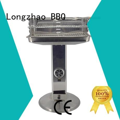 large portable grill stand side for outdoor cooking Longzhao BBQ