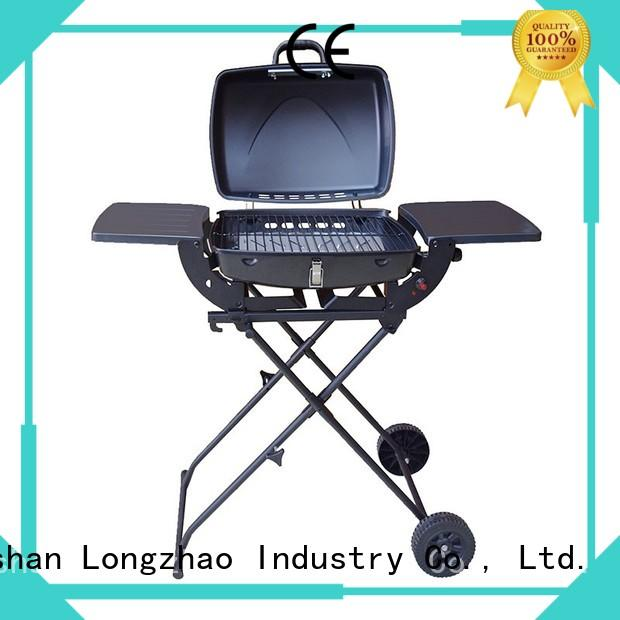 cast iron charcoal grill liquid for cooking Longzhao BBQ