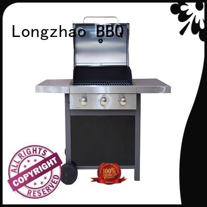 Longzhao BBQ large storage propane gas grill easy-operation for cooking