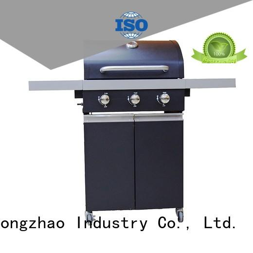 Longzhao BBQ large base gas charcoal grill side for cooking