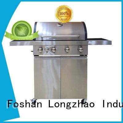 Longzhao BBQ outdoor natural gas grills easy-operation for cooking