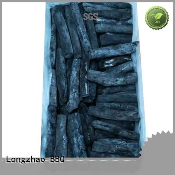 Longzhao BBQ hot-sale natural wood charcoal briquettes hardwood for barbecue