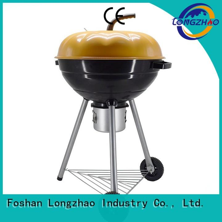 trolley surface burning Longzhao BBQ Brand best charcoal grill supplier