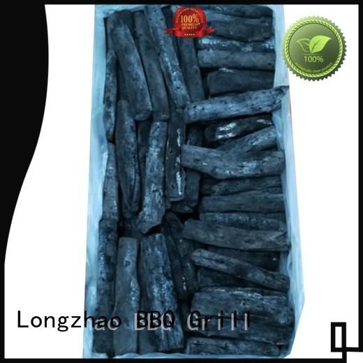 briquett hexagonal sawdust briquette charcoal white for cooking Longzhao BBQ