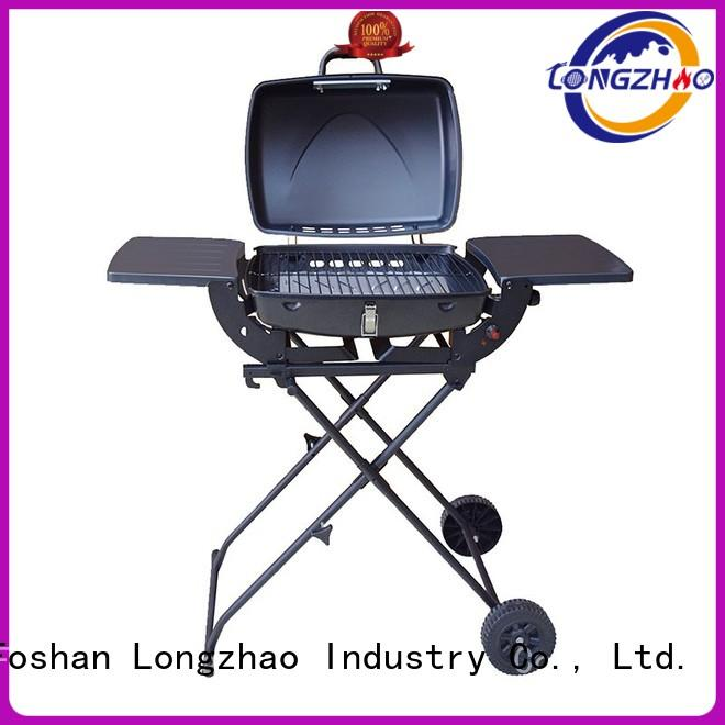 Longzhao BBQ Brand grill manufacturer direct selling gas barbecue bbq grill 4+1 burner