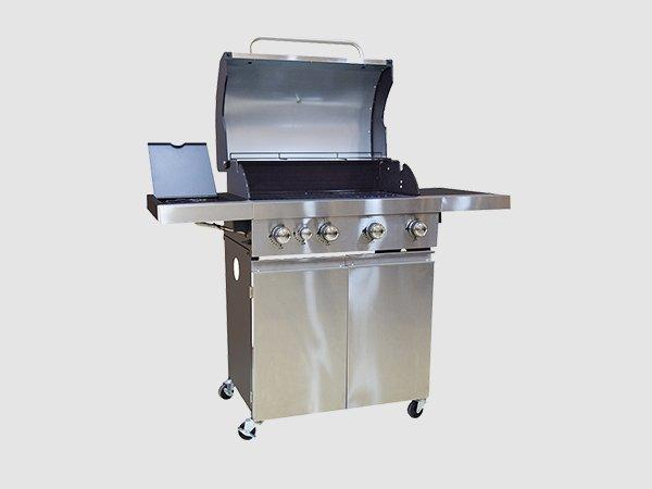 large storage bbq natural gas grill easy-operation for garden grilling-3