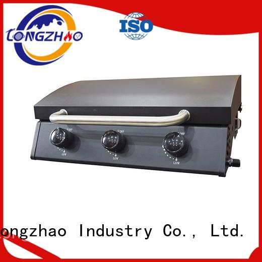 iron folding cooking liquid gas grill Longzhao BBQ Brand