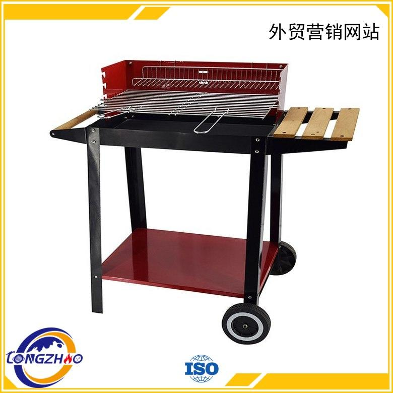 Longzhao BBQ Brand instant garden round disposable bbq grill near me