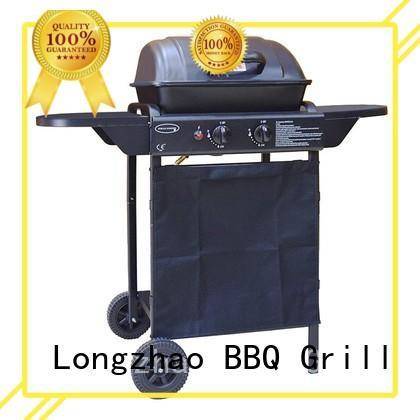 Longzhao BBQ large base best 2 burner gas grill griddle for garden grilling