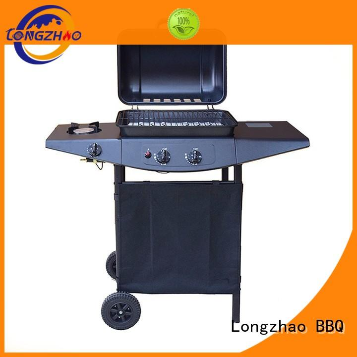 Wholesale griddle liquid gas grill Longzhao BBQ Brand