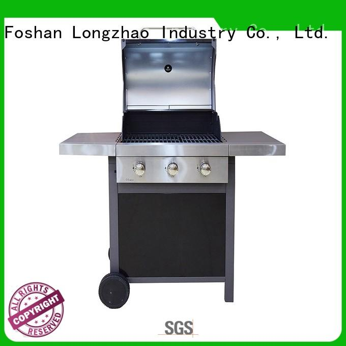 propane gas charcoal grill half for cooking Longzhao BBQ
