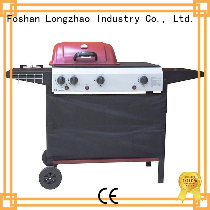 Longzhao BBQ patio gas charcoal grill for garden grilling