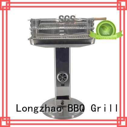 wood grill for barrel bbq for camping Longzhao BBQ