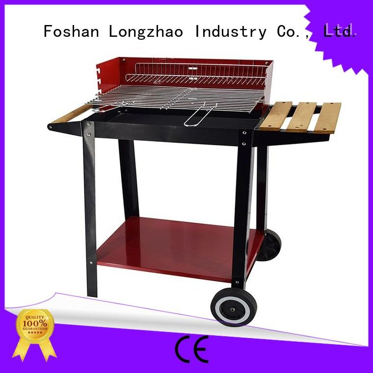 Longzhao BBQ smoker patio fire pit grill barren for barbecue