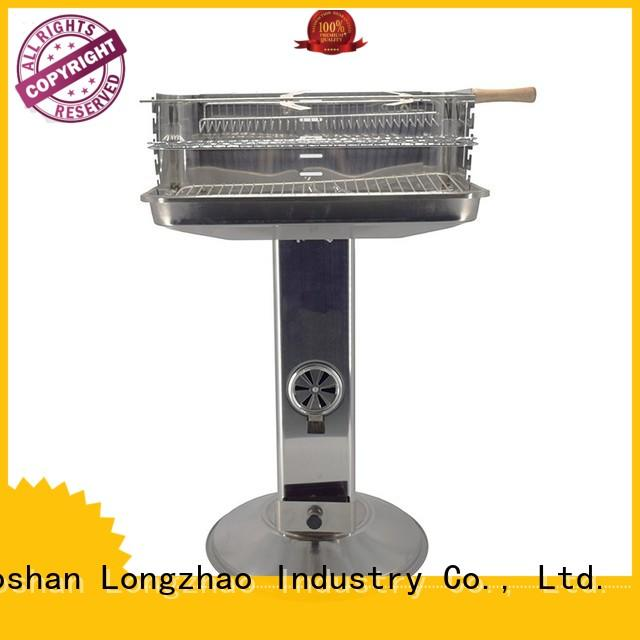stainless pit OEM best charcoal grill Longzhao BBQ