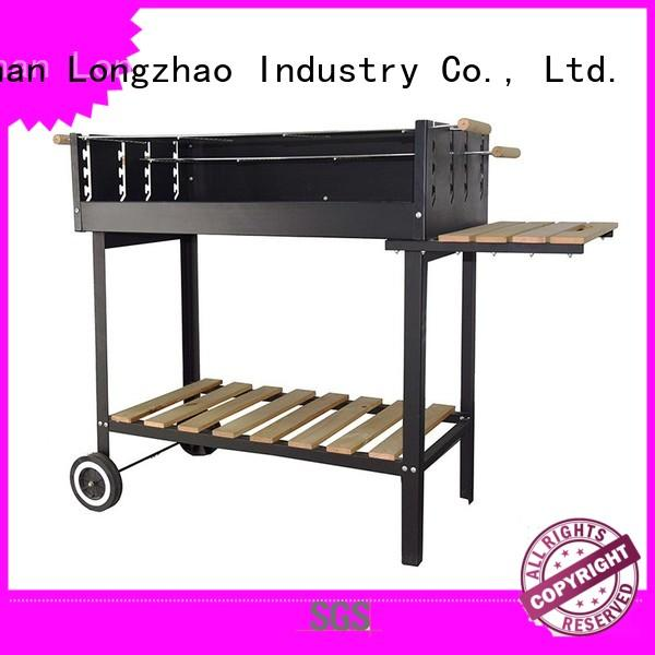 Longzhao BBQ light-weight outdoor charcoal grill high quality for outdoor cooking
