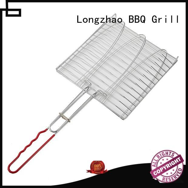 easily cleaned grill basket for bbq factory price for gatherings