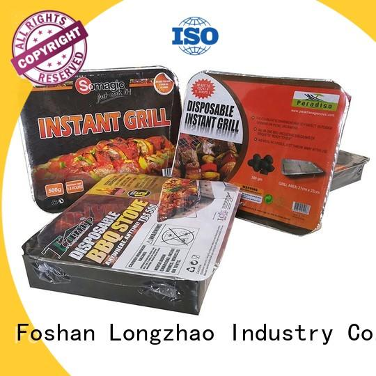Longzhao BBQ unique professional charcoal grill high quality for outdoor bbq