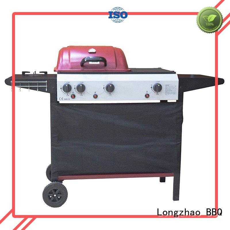 propane manufacturer direct selling burners Longzhao BBQ Brand best gas bbq supplier