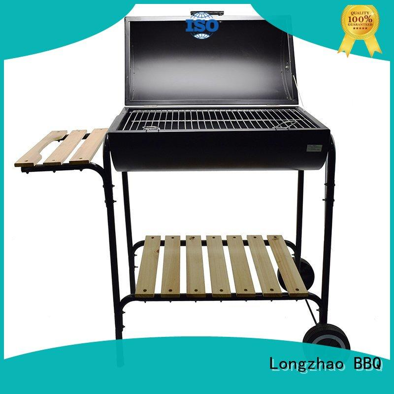 light-weight round charcoal grill high quality for outdoor bbq