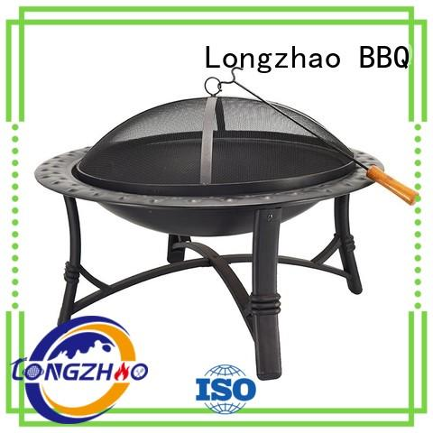 burning blue barbecue grill shape for outdoor bbq Longzhao BBQ