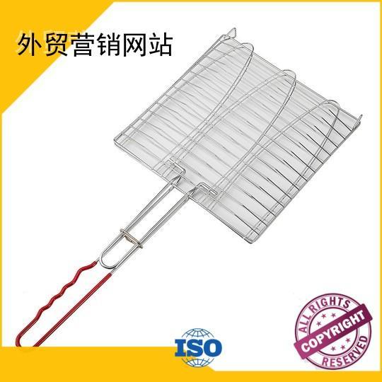 folding grillbasket wholesale grill low price Warranty Longzhao BBQ