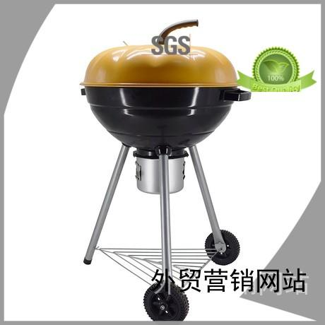 smoker high quality round garden Longzhao BBQ Brand best charcoal grill supplier